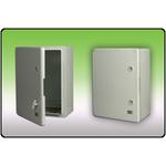 PLASTIC BOX WITH DOOR 280X210X130