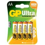 GP Ultra alkaline battery AA - LR06