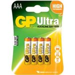 GP Ultra alkaline battery AAA - LR03