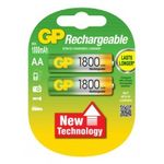 GP rechargeable batteries AA 1800 mAh NiMh 1.2V