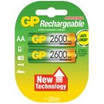 GP rechargeable batteries AA 2700 series NiMh 1.2V