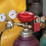 Pressurized Gas Valve Lockout S 3910