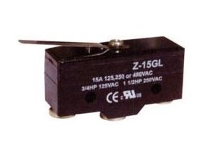TERMINAL SWITCH 15A 125/250VAC Z-15GL-B (1301)