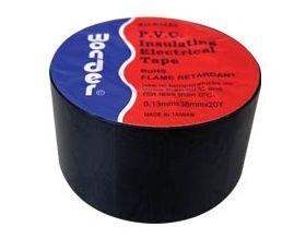 DUCT TAPE PVC 0.13X38X20Y K1ZA0 BLACK WΟNDER