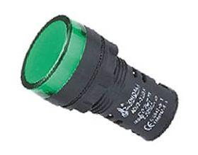 Indicator Lamp W/LED-22mm-24VAC/DC-Green